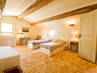 Large Luxury Villa in Provence with a Pool and Tennis Court  - Villa de Banon - Simiane-la-Rotonde vacation rentals