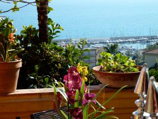 Colorful Villa in Menton on the French Riviera - Villa Mediterranee - Menton vacation rentals