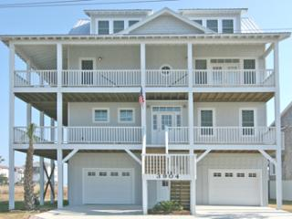 Gorgeous 5 bedroom North Topsail Beach House with Deck - North Topsail Beach vacation rentals