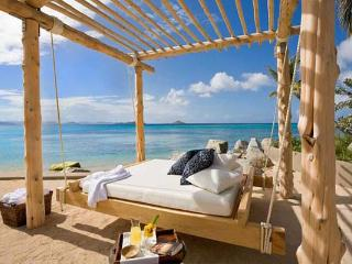 Intimate, sequestered beachfront villa. AQU V3 - British Virgin Islands vacation rentals