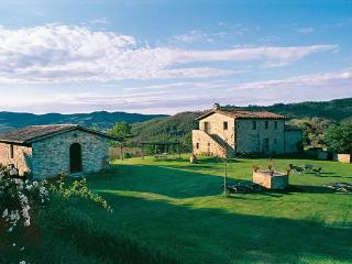 Stone- built farmhouse with attached guesthouse, close to Umbertide and the Tuscan border. HII ARC - Gubbio vacation rentals
