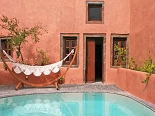 Tucked away in secluded Megalochori, this villa is the ideal, private hideaway. VMS IIO - Akrotiri vacation rentals