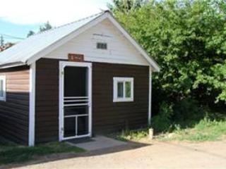 Historic Studio Cabin at Three Rivers Resort in Almont (#5) - Almont vacation rentals