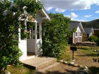 Lovely Little 1 BR Log Cabin at Three Rivers Resort in Almont (#9) - Image 1 - Almont - rentals
