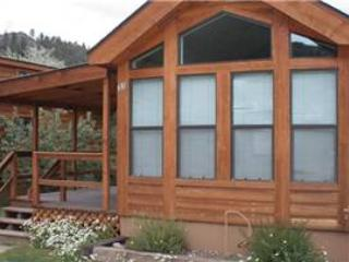 "Cozy ""Modular"" Style 1 BR with Sleeping Loft Cabin at Three Rivers Resort in Almont (#33) - Image 1 - Almont - rentals"