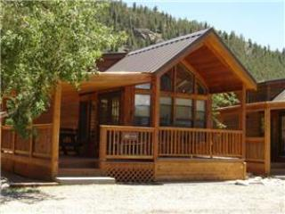 "Cozy ""Modular"" Style 1 BR with Sleeping Loft Cabin at Three Rivers Resort in Almont (#41) - Image 1 - Almont - rentals"