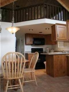 "Cozy ""Modular"" Style 1 BR with Sleeping Loft Cabin at Three Rivers Resort in Almont (#41) - Almont vacation rentals"