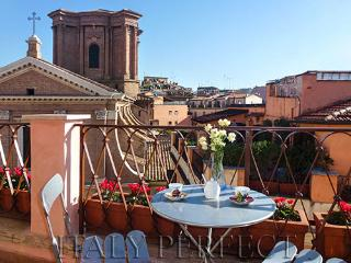 Perfect Penthouse-Best Spanish Steps-Toast Sunset from Terrace-Views-Angelina - Rome vacation rentals