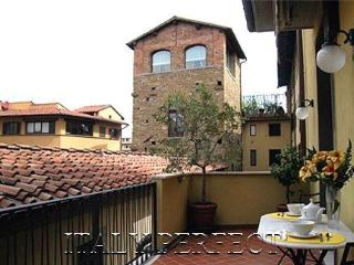 Perfect Big Sunny Terrace-Ponte Vecchio-Comfort-Ba - Florence vacation rentals