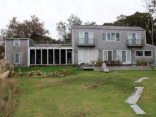 641 - FABULOUS WATERFRONT HOME OVERLOOKING LAKE TASHMOO TO THE VINEYARD SOUND - Vineyard Haven vacation rentals