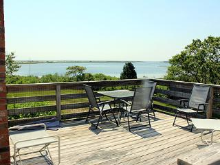 683 - WONDERFUL, INFORMAL COTTAGE STYLE HOME WITH ECLECTIC FURNISHINGS OVERLOOKING LARGE SALT POND - Edgartown vacation rentals