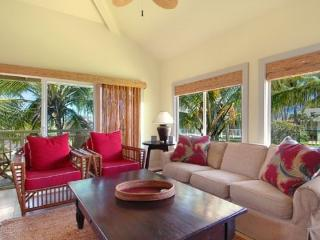 Regency Villas 221 - Spacious 4 bed / 3 bath condo, top of the line furnishings, amenities and AC - Poipu vacation rentals