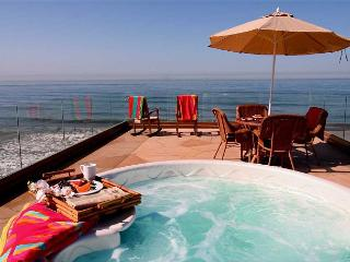 New10BR Oceanfront Home, rooftop decks, private spas, sweeping views, A/C - Oceanside vacation rentals