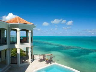 40 feet above sea level, this villa has breathtaking ocean views from all rooms and all decks. Enjoy the stepladder leading you  - Leeward vacation rentals