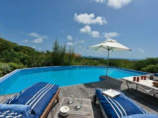 Enjoy sea views over Baie Longue with access to Baie Longue and Baie Rouge beaches. C SCO - Terres Basses vacation rentals