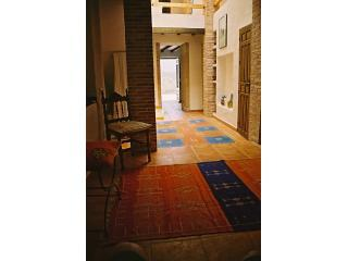 The lounge through view to front door - Andalusian Moorish style house with fantastic view - Almachar - rentals