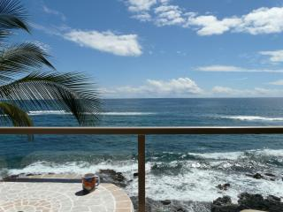 415 7th picture st off lanai.JPG - 4th floor Kuhio Shores oceanfront - Poipu - rentals