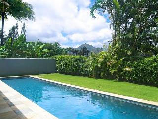 Hale Emmalani: Elegant remodeled 3br/3ba home with private pool, quiet street - Princeville vacation rentals