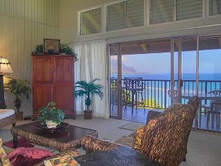 Pali Ke Kua 202: Spectacular oceanfront and Bali Hai views, premium interior! - Princeville vacation rentals