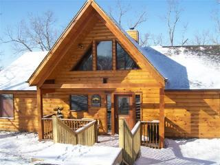 Snowy day at the cabin - Breathtaking Branson Vacation Log cabin - Branson - rentals