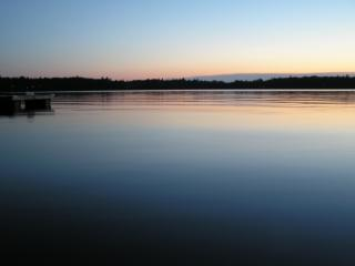 Blue Lake at Sunset - Blue Lake Pines Lodge & Suites - Minocqua - rentals