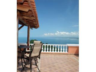 PHS master balcony - Pacifico Colonial Luxury Condo Penthouse South - Manuel Antonio National Park - rentals