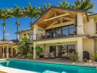 Luxurious Island Retreat with Pool!!  With beautiful Ocean and Mountain Views - Princeville vacation rentals
