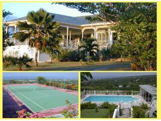 Utmost Privacy in 2 acres,  panoramic sea views - Charlestown vacation rentals