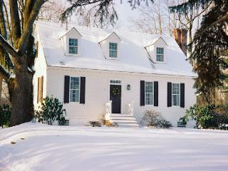 Romantic Getaway Cottage with Fireplace/River View - Greater Philadelphia Area vacation rentals