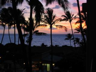 Another Beautiful Sunset from the Lanai - Perfect Ocean View South Maui Condo - Kihei - rentals