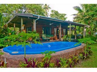 Beachfront cottage with large private saltwater pool - Absolute Beachfront Cottage w/ Large Private Pool - Savusavu - rentals