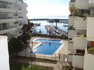 Marina, pool & sea view. This really is the view. - Breath-taking Ocean View from Estepona Port condo. - Estepona - rentals