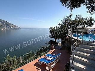 Bright 4 bedroom House in Positano with Deck - Positano vacation rentals