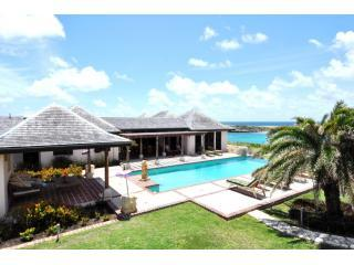 House and Pool view - Dian Bay Villa - Saint Philips - rentals