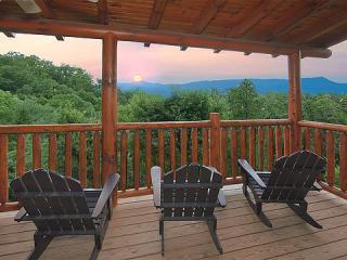 Sunset View from Deck - KNOCKIN' ON HEAVEN'S DOOR - Luxury 5/4 -Theater - Sevierville - rentals