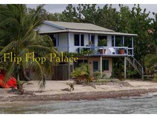 Flip Flop Palace; on the beach by Maya Beach Hotel - Placencia vacation rentals