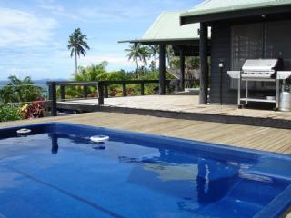 Pool and main deck. - Ucuilagi, a  private residence overlooking beach. - Matei - rentals