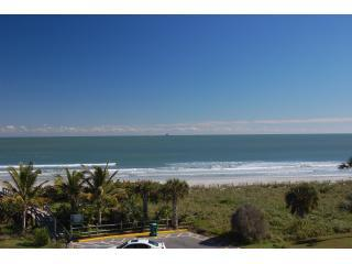 Your Exquisite Ocean View from the balcony - Romantic, Ocean Front, pool, tennis, basketball - Cape Canaveral - rentals