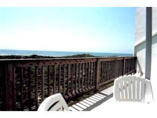"Balcony view   40ft long - La Mirage Beachfront Condo""232"" - Port Aransas - rentals"