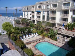 pool below a building - Beach rental at North Coast Village/ocean views - Oceanside - rentals