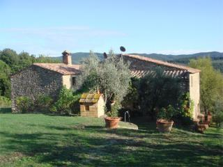 Secluded farmhouse one hour between Florence / Siena & Pisa - Volterra vacation rentals