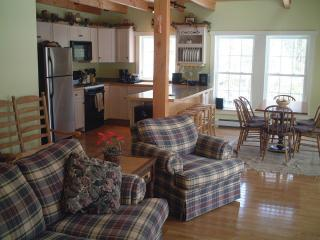 Newly built post and beam like  lakefront cottage - Lincolnville vacation rentals