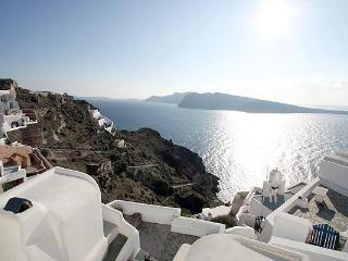honeymoon house in oia village with calera-sunset-sea view - Oia vacation rentals