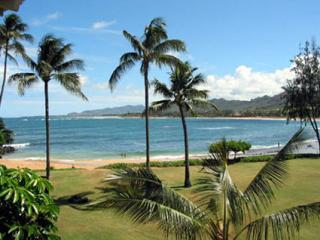 grounds and beach - Kauai Beachfront Condo Rental...Steps to the Sand! - Kapaa - rentals
