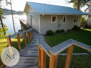 Enjoy the incredible Flathead Valley from this 3 level Somers Home! - Somers vacation rentals