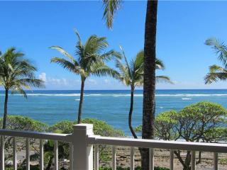 Kapaa Shore Resort #308-OCEANFRONT, Washer/Dryer! - Kapaa vacation rentals