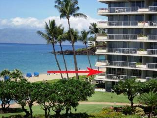 Kaanapali Beach Vacation Condo - Oceanfront - Right on Kaanapali Beach - Whaler # 201 **Oceanfront**-Panoramic Views!! - Ka'anapali - rentals