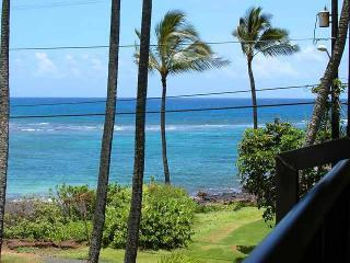 Living room  and Lanai view - Ocean View, Paradise,  Quality, & Affordable Value - Poipu - rentals