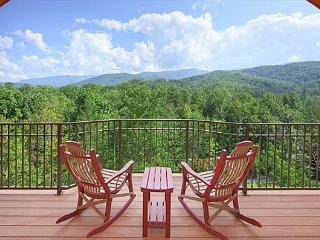 BRAND NEW  - Unrestricted views of the smokies in this Luxury getaway cabin. - Gatlinburg vacation rentals
