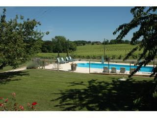Cottage with pool on Armagnac vineyard, SW France - Creon-d'Armagnac vacation rentals